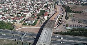 Otoyol Geçiş Köprüsünde Kiriş...