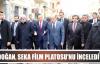 Başbakan Yardımcısı Akdoğan,  Seka Film Platosu'nu inceledi