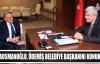 Başkan, Ödemiş Belediye başkanını konuk etti