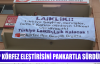 CHP KÖRFEZ ELEŞTİRİSİNİ PANKARTLA SÜRDÜRDÜ