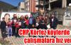 CHP Körfez köylerde de çalışmalara Hız verdi