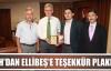 İHH Kocaeli Temsilciliğinden Başkan Ellibeş'e teşekkür plaketi
