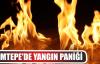 İlimtepe'de yangın paniği
