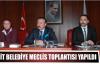 İZMİT BELEDİYE MECLİS TOPLANTISI YAPILDI