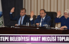 Kartepe Belediyesi Mart Meclisi Toplandı