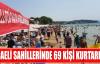 KOCAELİ SAHİLLERİNDE 69 KİŞİ KURTARILDI
