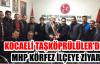 Kocaeli Taşköprülüler'den MHP Körfez İlçeye Ziyaret