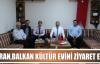 Körfez Belediye Başkanından Balkan Kültür Evi'ne Ziyaret