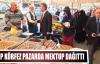 MHP Körfez'in mektup dağıtımı Pazarda da devam etti