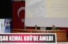 Yaşar Kemal KOÜ'de anıldı