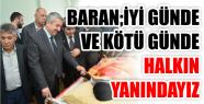 """Başkan Baran, """"Hizmet Yolunda Vatandaşlarımızın..."""