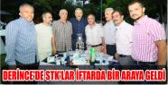 DERİNCE'DE STK'LAR İFTARDA BİR ARAYA...