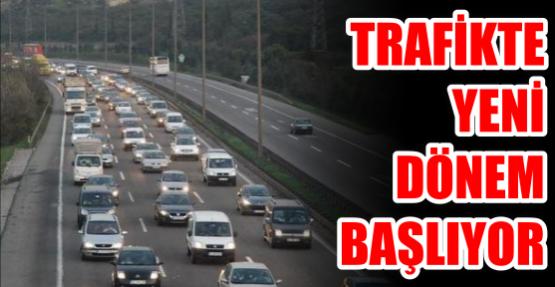 Trafikte yeni dönem! Sürücüler de araçlar da akıllanacak.