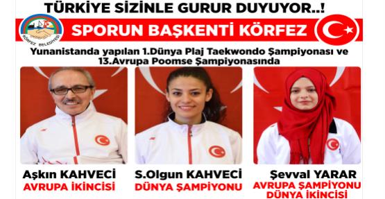 Türkiye Sizinle Gurur Duyuyor !!!
