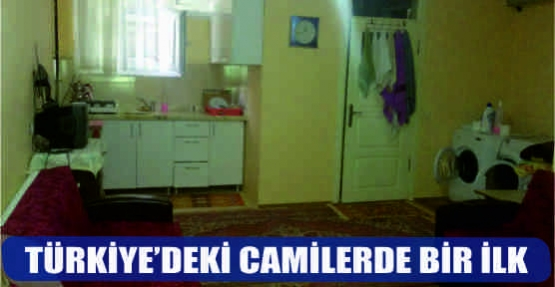 TÜRKİYE'DEKİ CAMİLERDE BİR İLK!