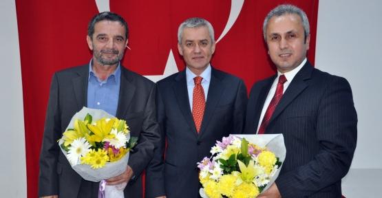 Körfez Dr. Mümtazer Türköne'yi ağırladı