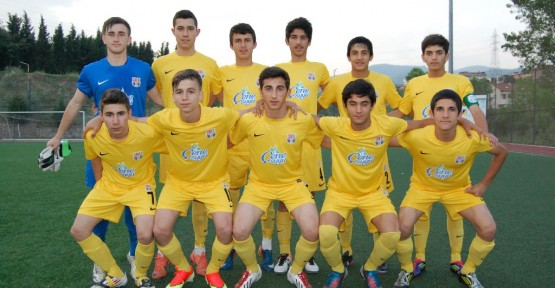 U-16'lar Bursa yolcusu