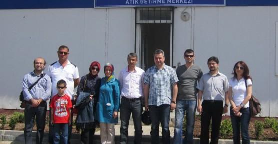 UKAY 2013 katılımcılarından Atık Getirme Merkezi'ne ziyaret