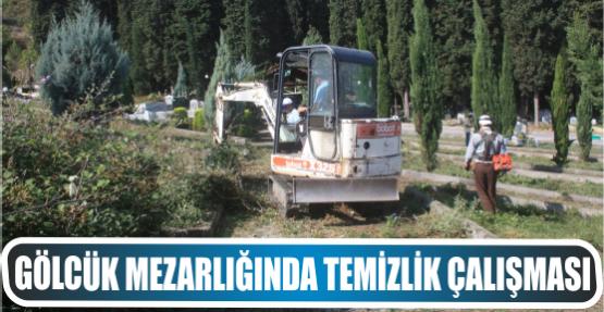 Ulaşlı Mezarlık alanında  Genel bakım ve temizlik çalışması gerçekleştirdi