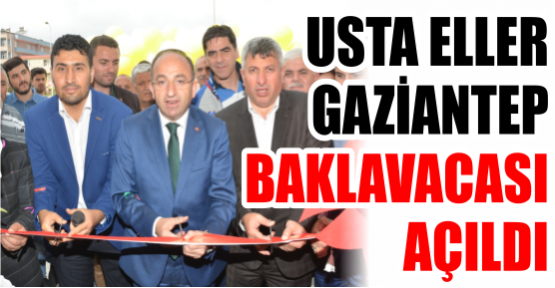 """""""USTA ELLER  GAZİANTEP BAKLAVACASI  AÇILDI"""