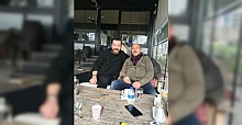 ERCÜMENT FİDAN'DAN ENGİN KOYUN'A ZİYARET