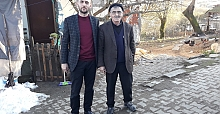 EFSANE MUHTARIN DUASINI  ALARAK BAŞLADI
