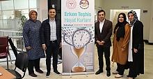 """KÖRFEZ PERSONELİNE """"ORGAN NAKLİ  VE ERKEN TEŞHİS"""" ANLATILDI"""