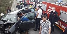 HEREKE'DE FECİ KAZA: 3 YARALI..!