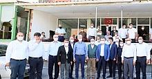 BAŞKAN BÜYÜKAKIN, DİLOVASI'NDA VATANDAŞLARLA BİR ARAYA GELDİ