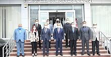 VALİ YAVUZ'DAN KTO'YA ZİYARET