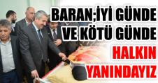 """Başkan Baran, """"Hizmet Yolunda Vatandaşlarımızın Duaları Bize Güç Veriyor"""""""