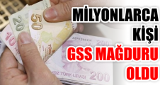 Milyonlarca kişi GSS mağduru oldu