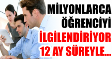 MİLYONLARCA ÖĞRENCİYİ İLGİLENDİRİYOR 12 AY SÜREYLE...