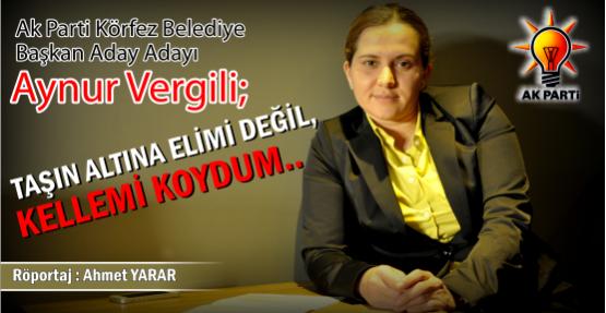 """VERGİLİ;"""" TAŞIN ALTINA ELİMİ DEĞİL, KELLEMİ KOYDUM"""""""