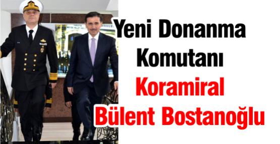 Yeni Donanma Komutanı Koramiral Bülent Bostanoğlu,