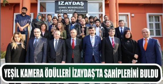Yeşil Kamera Ödülleri İZAYDAŞ'ta sahiplerini buldu