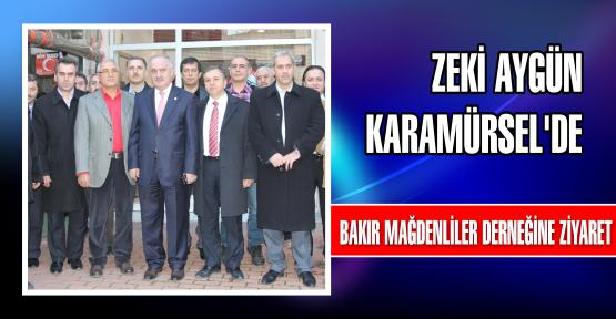 Zeki Aygün Karamürsel'de
