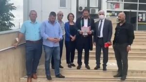 İYİ Parti Körfez de Suç Duyurusu Yaptı