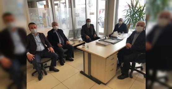 PTT Müdürü, AK Partilileri Ağırladı