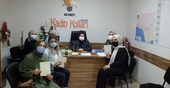 AK Partili Kadınlardan Yeni Üyelik Hamlesi
