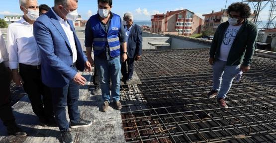 Başkan Büyükakın, ''Darıca'daki Depomuzun Yüzde Seksenini Tamamladık''