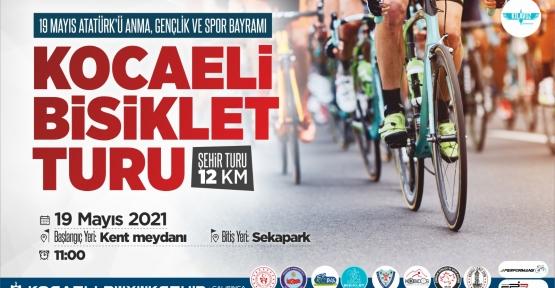 KOCAELİ'DE 19 MAYIS BİSİKLET TURU DÜZENLENECEK