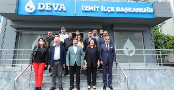 Başkan Hürriyet'ten Deva Partisi'ne İade-İ Ziyaret