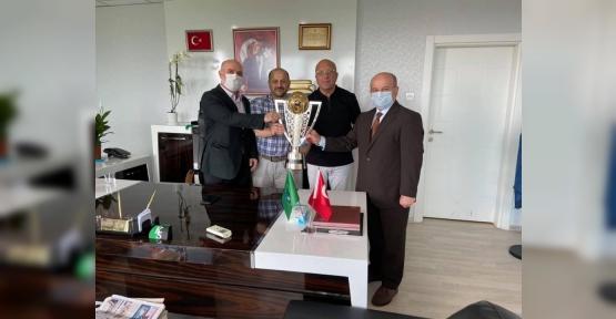 Müftüden Şampiyon  Kocaelispor'a Ziyaret