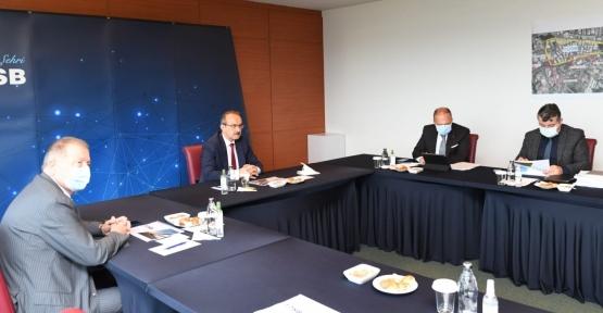 TOSB'un Ulaşım Sorunlarının İstişare Toplantısı, Vali  Yavuz'un Başkanlığında Gerçekleştirildi