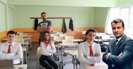 Tübitak Yarışmasında O Okul Türkiye 2.Si Oldu
