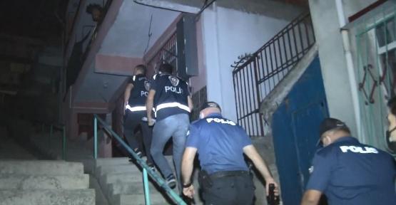 Şafak Operasyonunda 16 Suçlu Yakalandı