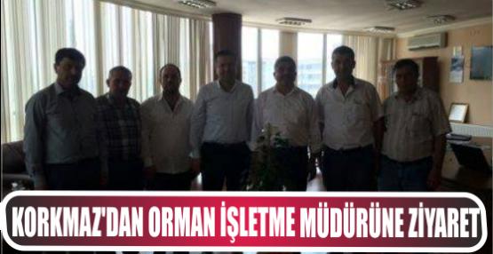 AK İzmit'ten  Yeni müdüre ziyaret