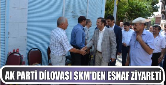 Ak Parti Dilovası SKM Tavşancıl Esnafını Ziyaret Etti