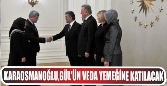 Başkan, Cumhurbaşkanı Gül'ünveda resepsiyonuna katılacak